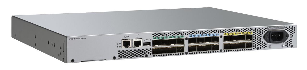 HPE StoreFabric SN3600B 32Gb 24/24 Power Pack+ Fibre Channel Switch