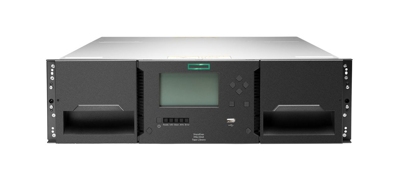 HPE MSL3040 Scalable Base Module (0 Drives 40 Slots)
