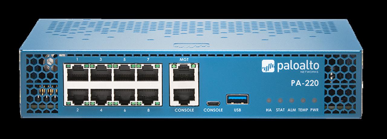 Palo Alto Networks Enterprise Firewall PA-220 PANDB URL filtering subscription 5-year prepaid renewal, PA-220