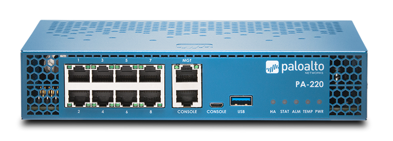 Palo Alto Networks Enterprise Firewall PA-220 PANDB URL filtering subscription 5 year prepaid for device in an HA pair, PA-220