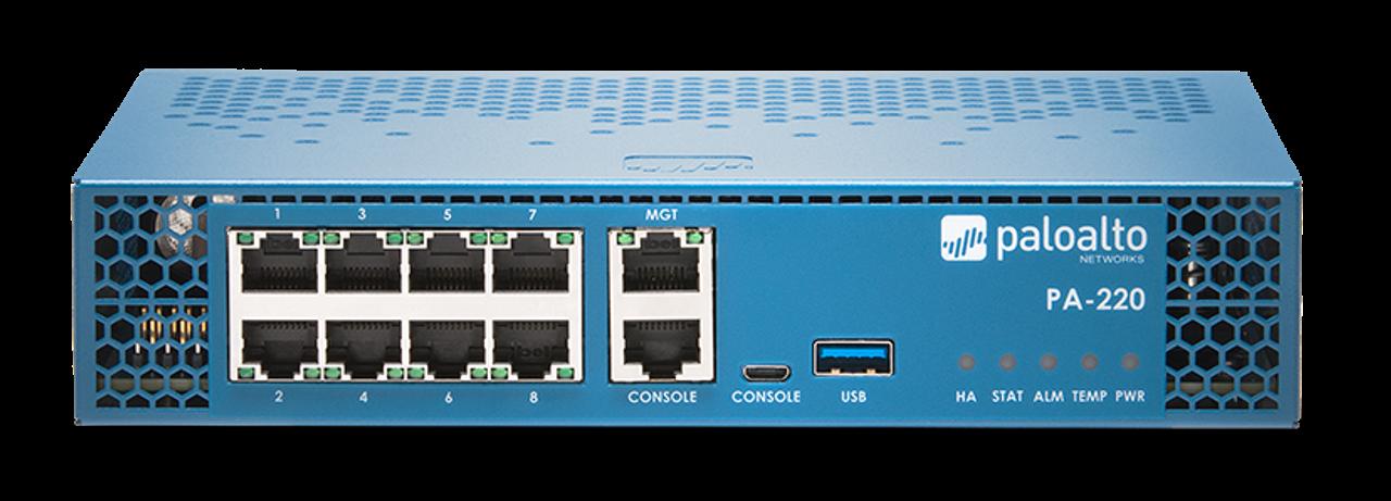 Palo Alto Networks Enterprise Firewall PA-220 Partner enabled premium support 3-year prepaid, PA-220