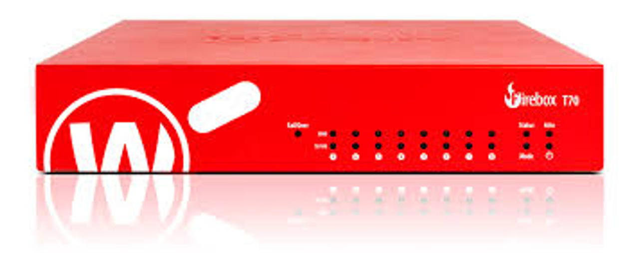 Trade up to WatchGuard Firebox T70 with 3-yr Basic Security Suite (US)