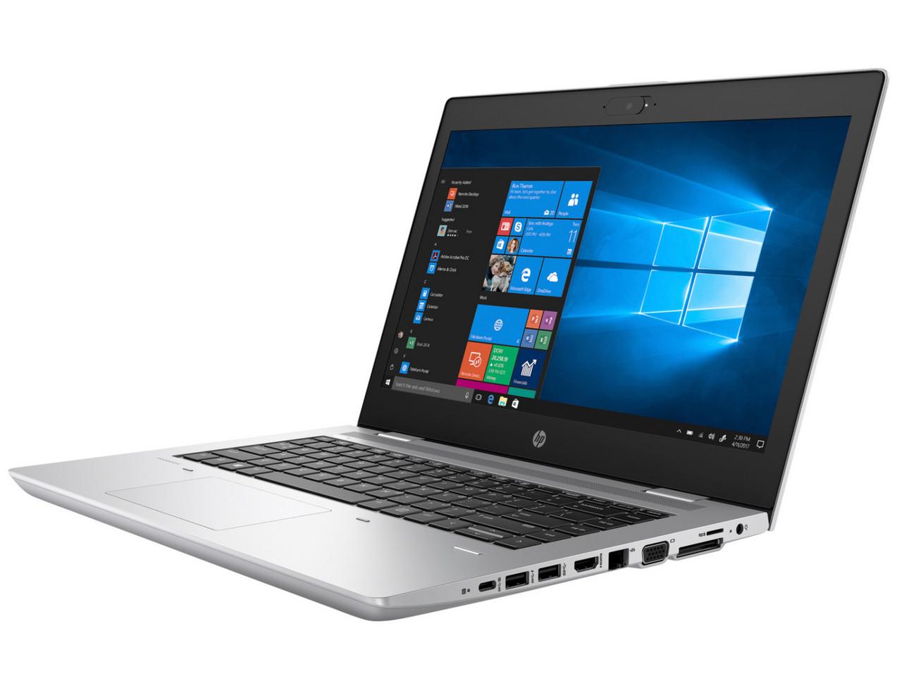 "HP ProBook 640 G4 Business Laptop 14"" FHD i7-8650U 16GB 512GB SSD Cam FPR Wrty"