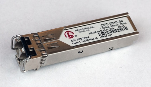 BIG-IP & VIPRION SFP+ 10GBASE-SR Transceiver Long Range
