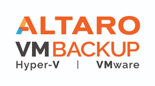 New License - Altaro VM Backup for VMware - Standard Edition including 1 year of SMA