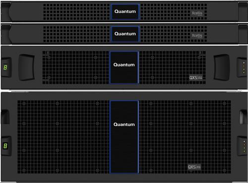 Quantum QXS-484 12G RAID Node, Ethernet SFPs, 672TB (84x8TB), HDD, SED