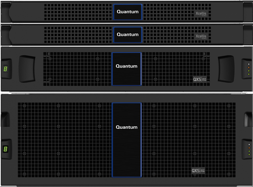 Quantum QXS-484 12G RAID Node, Fibre Channel SFPs, 1008TB (84x12TB), HDD, SED