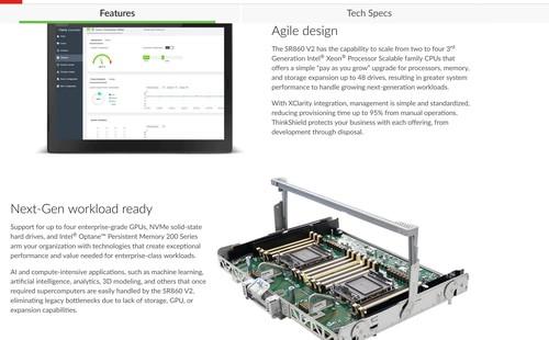 ThinkSystem SR850 V2