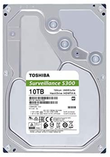 10TB Surveillance Internal Hard Drive 7200RPM 256MB (S300)