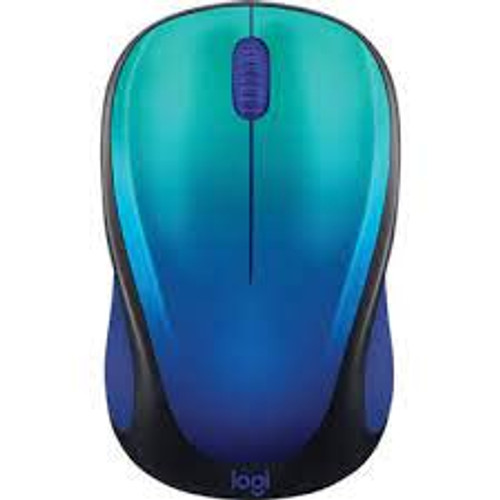Design Collection Limited Edition Wireless Mouse - BLUE AURORA
