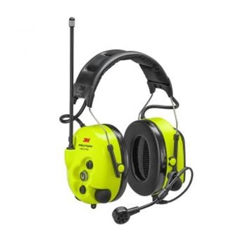 3M PELTOR LiteCom Plus Headset MT73H7A4610NA, Headband, 5 ea/Case