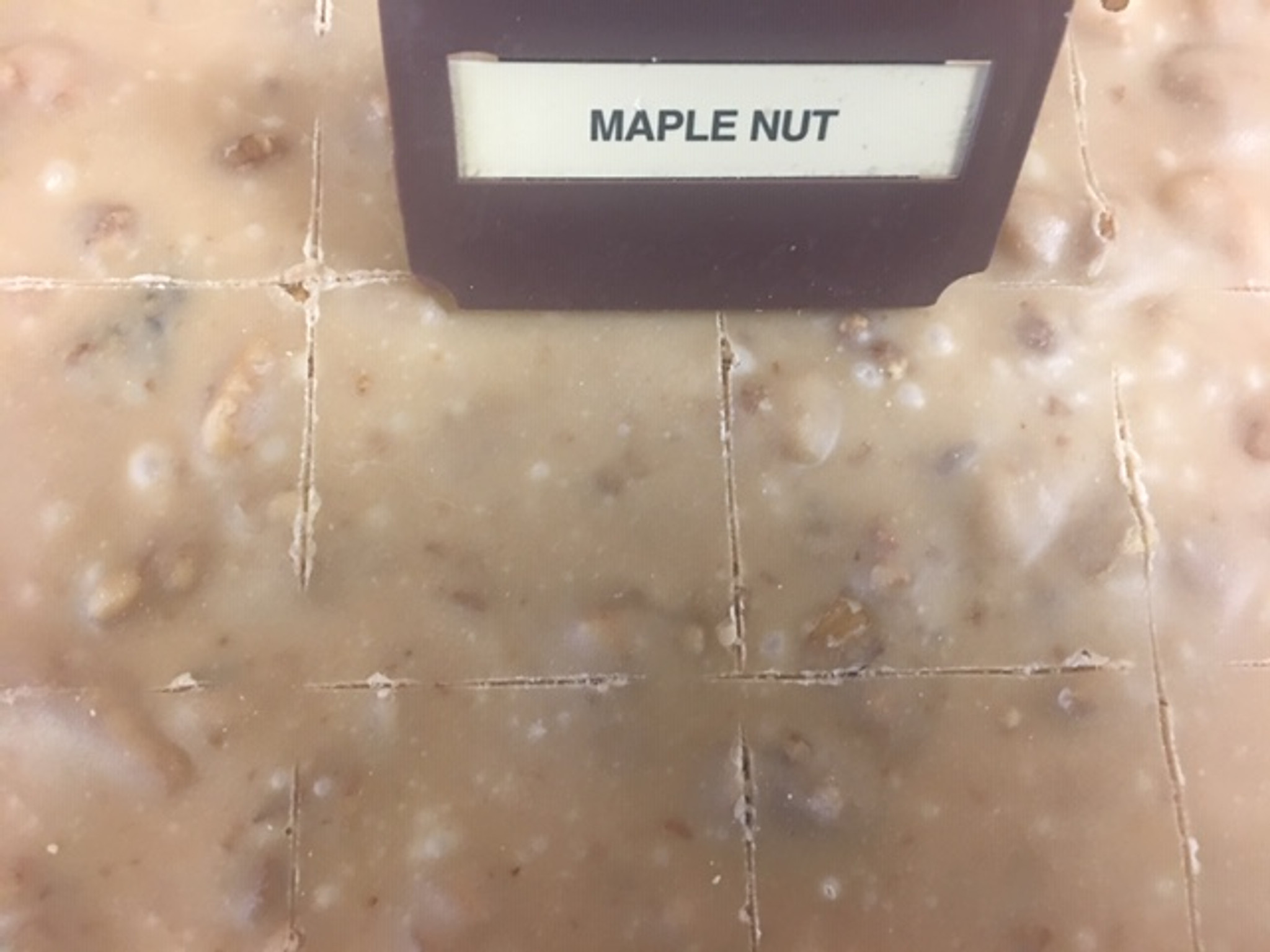 Maple Nut Fudge from Sweet Dreams Confections