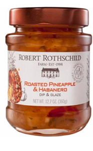 Roasted Pineapple & Habanero Dip and Glaze