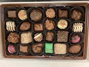 Hand Made Asst'd Chocolate Box