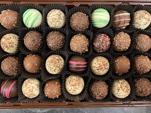 Assorted Mini Chocolate Truffles