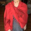 Papatya Shawl/Bath Sheet/Throw/Tablecloth