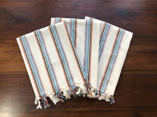 Antep Rainbow Striped Towel