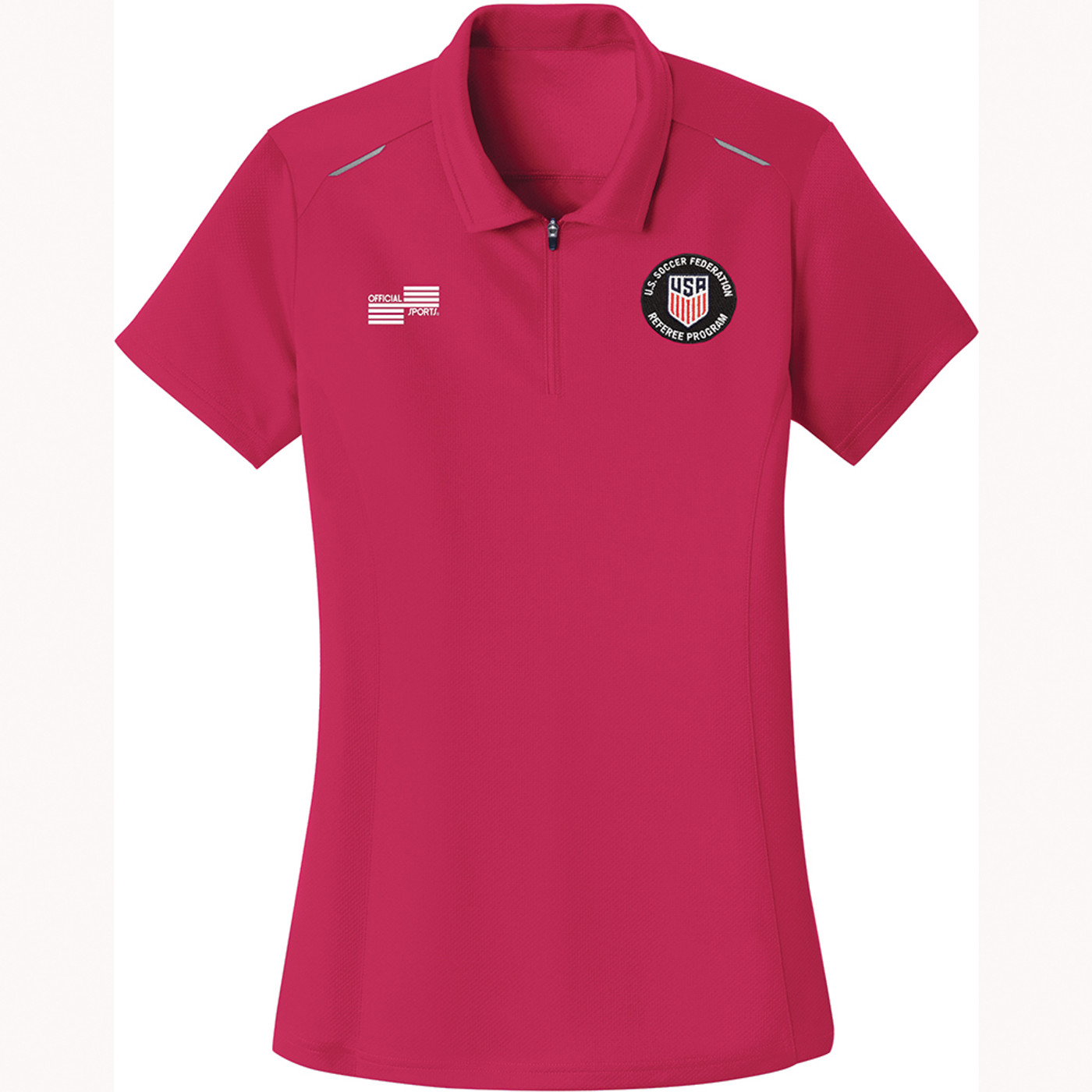 W2404CL USSF Women's Performance Wicking Golf Shirt