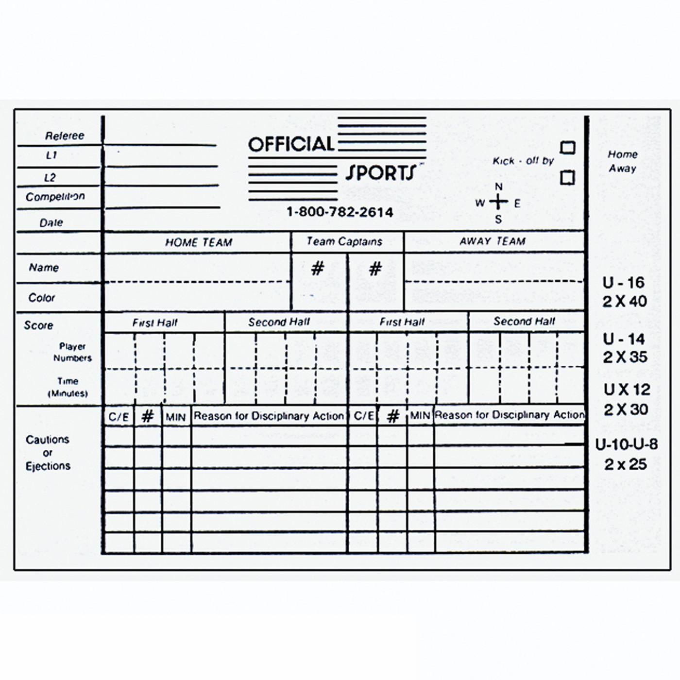 W1815R Women's Red 11 Piece USSF Starter Kit SPak