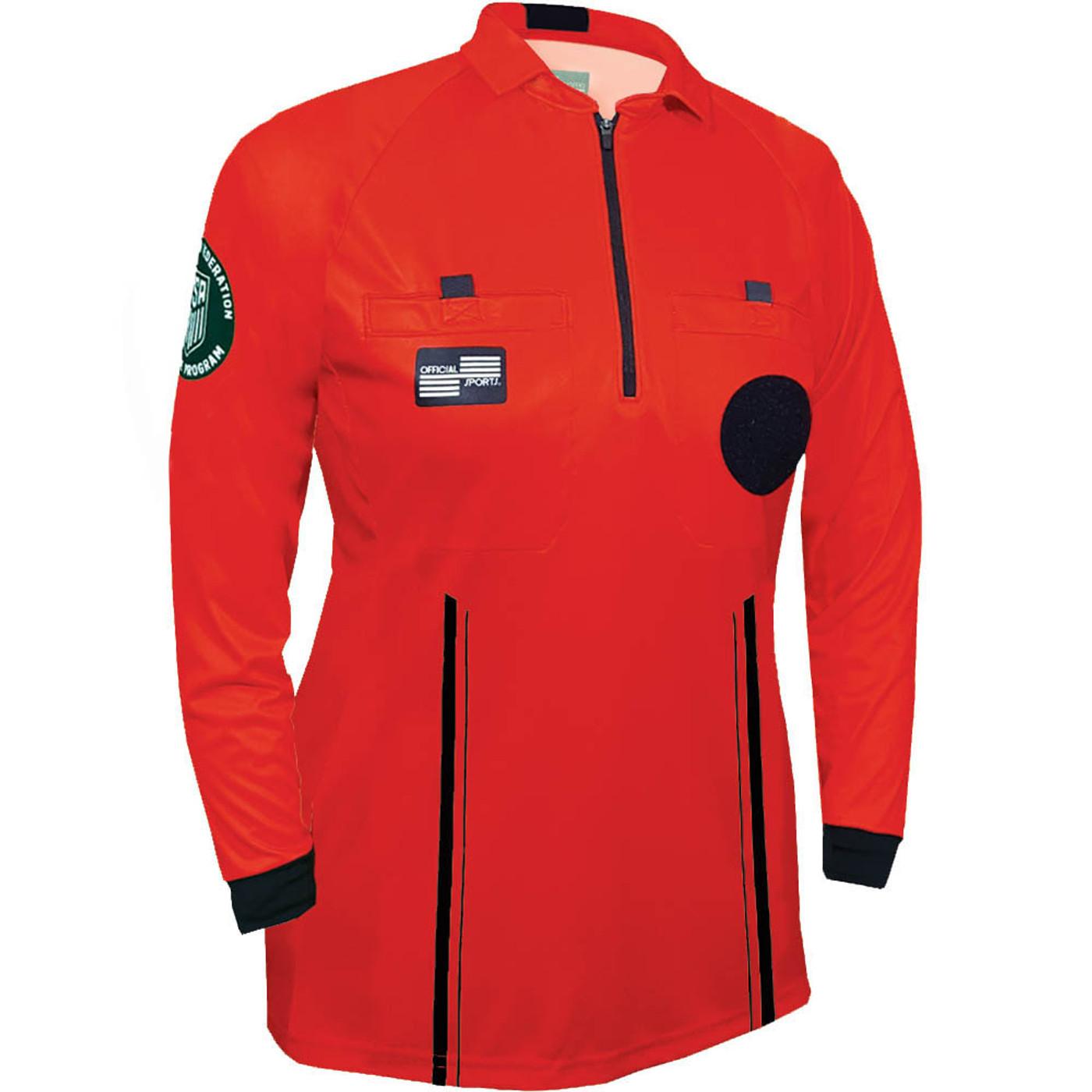 W9901R Women's Red Pro Long Sleeve Kit