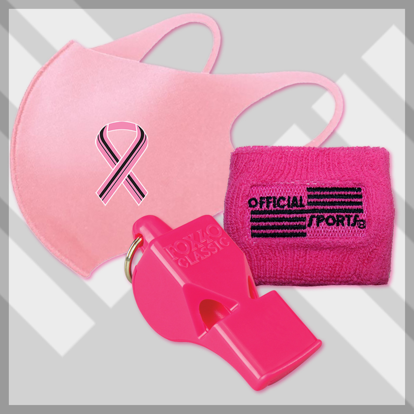 BCKIT3  Breast Cancer Awareness 3 PC Kit