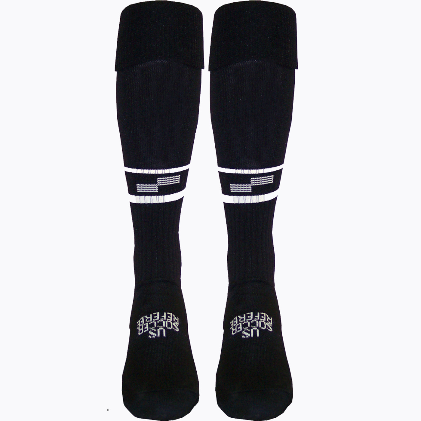 1305CL Official U.S. Soccer Two Stripe Uniform Sock