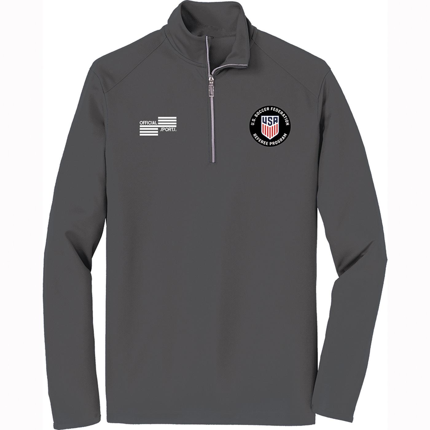 2223CL USSF Quarter Zip Long Sleeve