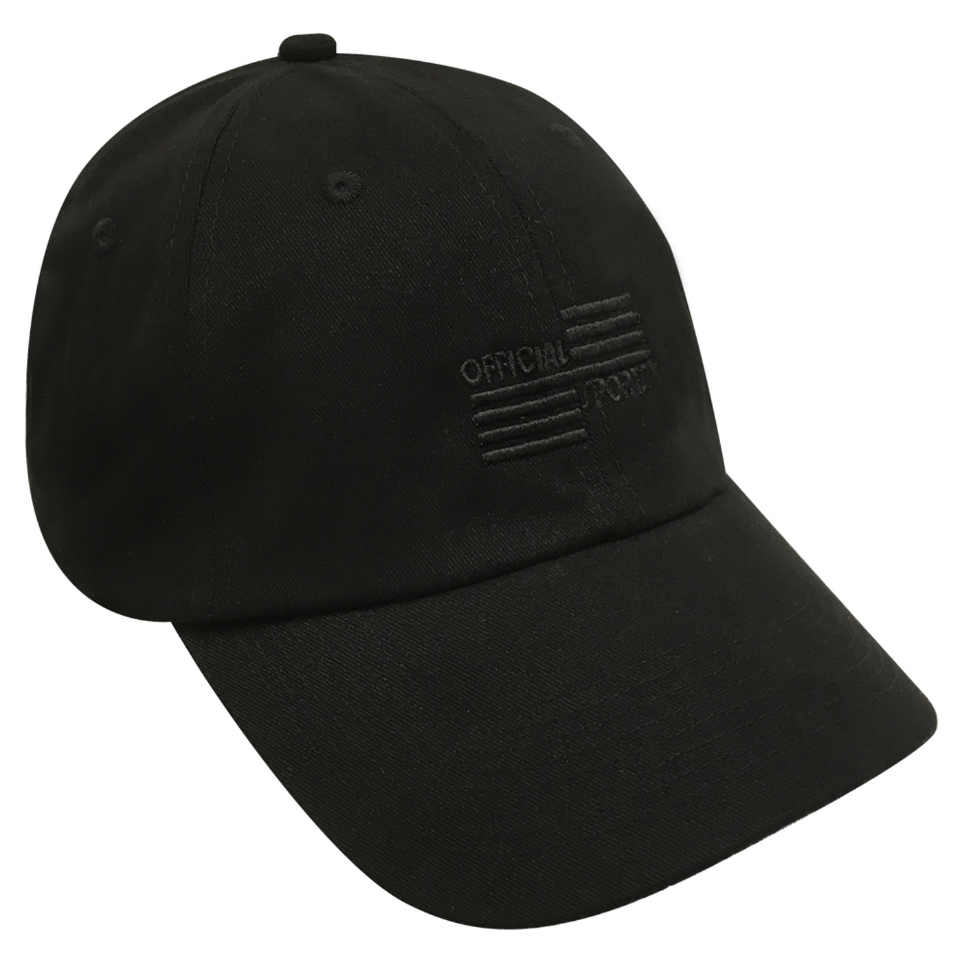 3024B Black Low Fit Cap W/Black OSI