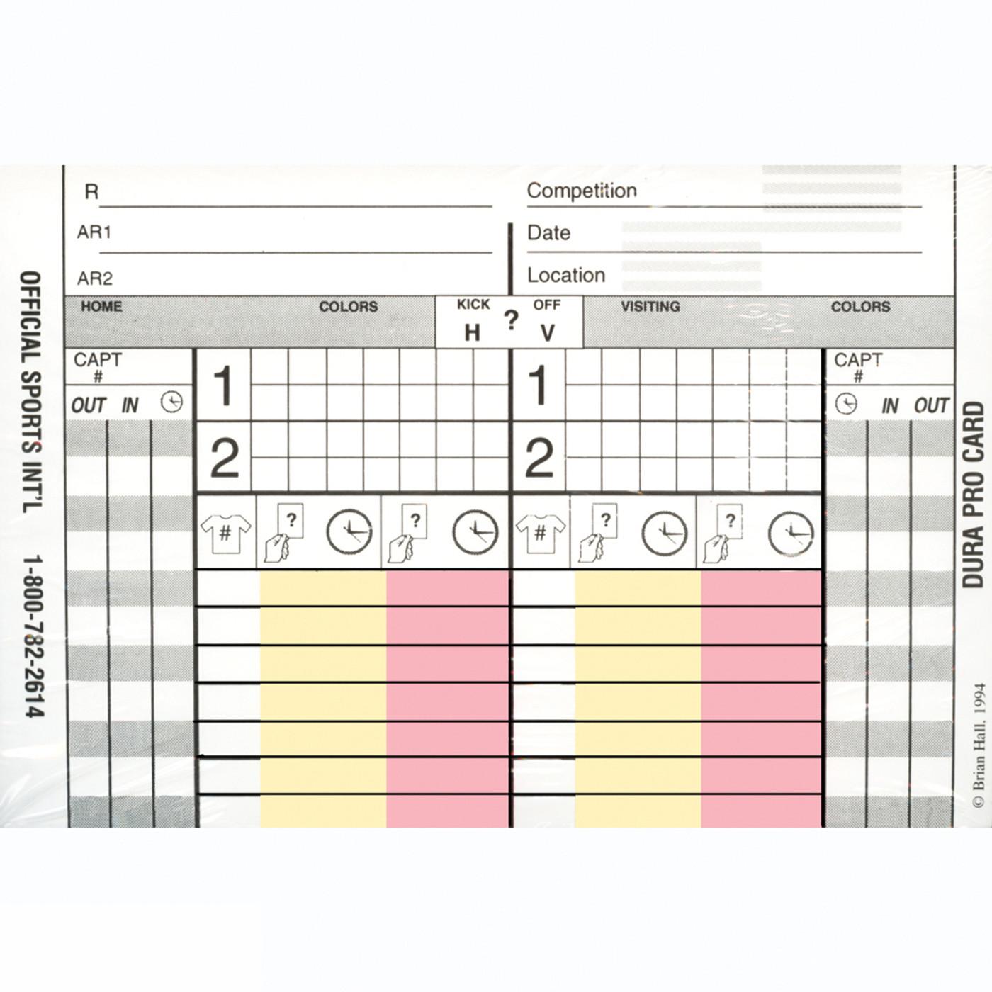 2050 Durapro Card Set