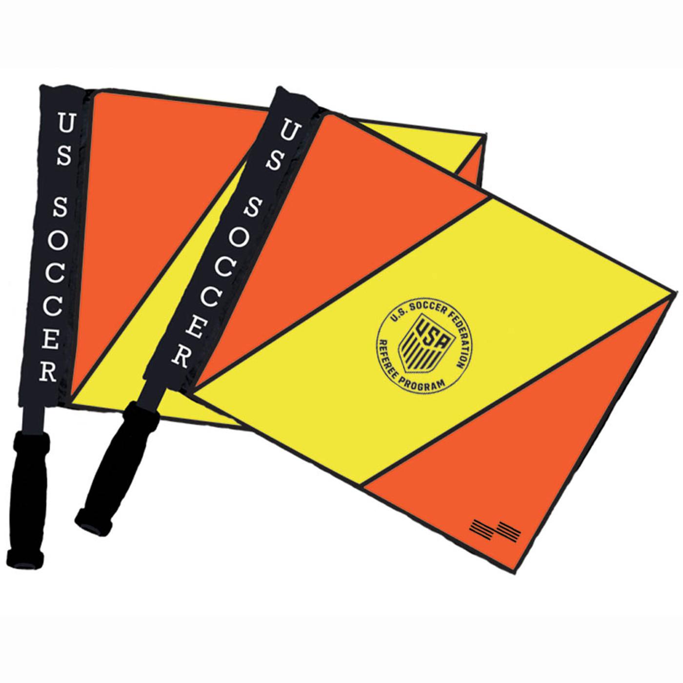 1533CL Official U.S. Soccer Swivel Flag Set