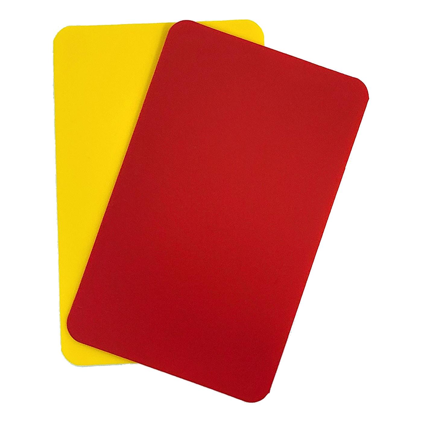 2041 Set Of 2 Pro Cards R/Y