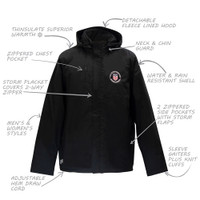 1198CL USSF Thinsulate Parka Jacket
