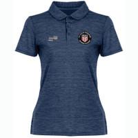 W2074CL USSF Women's Heathered Golf Shirt