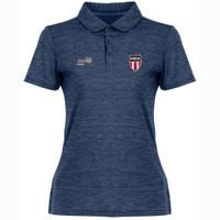W2074N NISOA Women's Heathered Golf Shirt