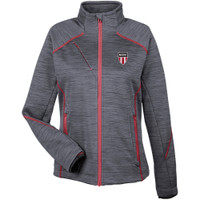 W1190N NISOA Women's Fleevce Full Zip Jacket
