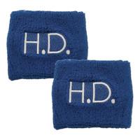 1443HD Blue HD Wristband Set of 2
