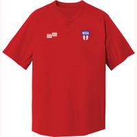 2068N NISOA Wicking Henley Golf Shirt