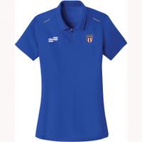 W2404N NISOA Women's Performance Wicking Golf Shirt