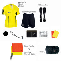 W1815Y Women's Yellow 11 Piece USSF Starter Kit RBag
