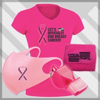 WBCKITMG4 Women's  Breast Cancer Awareness 4 PC Kit