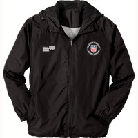 1228JCL USSF Black Rain Jacket