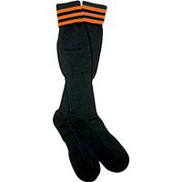 1309O The Italian Ref Sock, Orange Stripe