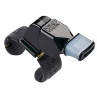 1410MG Fox 40 Black Fingergrip Whistle W/Mouthgrip