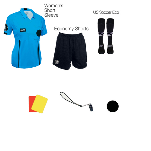 W1817BLU Women's Blue 7 Piece USSF Starter Kit