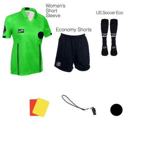 W1817G Women's Green 7 Piece USSF Starter Kit