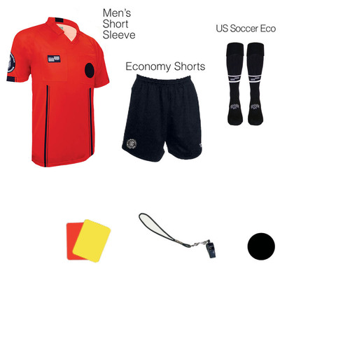 1817R Men's Red 7 Piece USSF Starter Kit