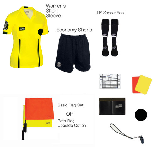 W1816Y Women's Yellow 10 Piece USSF Starter Kit