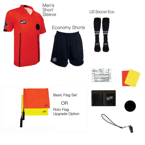 1816R Men's Red 10 Piece USSF Starter Kit