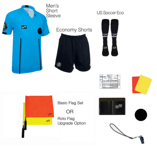 1816BLU Men's Blue 10 Piece USSF Starter Kit