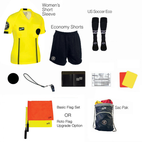 W1815Y Women's Yellow 11 Piece USSF Starter Kit SPak